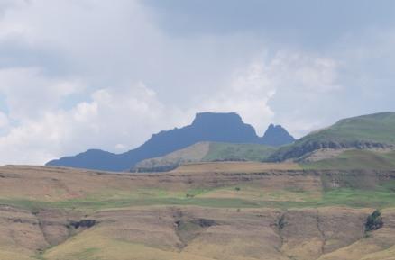 Cathkin Peak, seen from