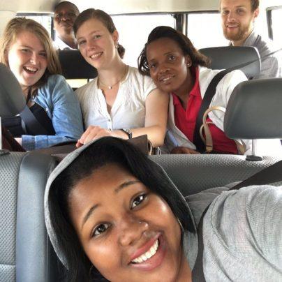 The original Zambezia crew from Moz-26. (Selfie credit to Margaret in front.)