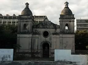 Igreja Nossa Senhora do Livramento, the old derelict church in Quelimane.