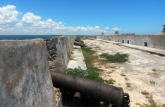 The Fortaleza de São Sebatião, constructed in the mid-16th century, remains a marker of the Portuguese colonial power. Ilha was the colonial capital of Mozambique until the late 1800s, when the capital was moved to Lourenço Marques (now Maputo).